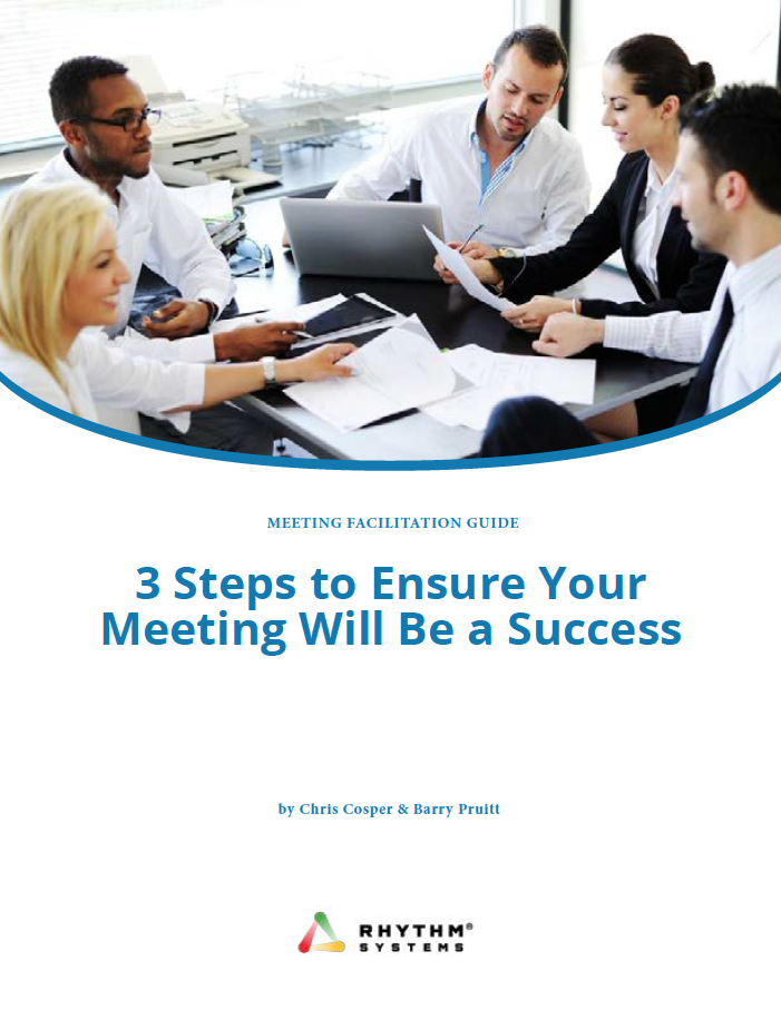 Free Guide: 3 Steps to Ensure Your Meeting will be a success